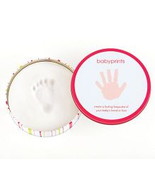 Pearhead Babyprints Tin - Pink