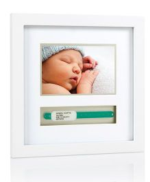 Pearhead Photo Frame ID Band - White