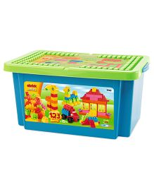 Ecoiffier Abrick 123 Pieces Box - Multicolor