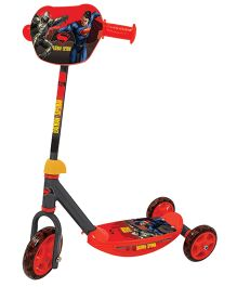 Marvel Batman Vs Superman Scooter 3 Wheel - Red