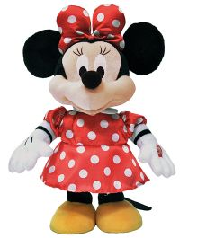 Disney Plush Battery Operated Singing And Dancing Minnhie Mouse Musical Toy - Multicolor