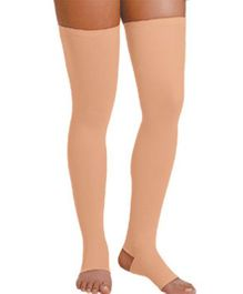 Aaram Full Length Stockings Small - Skin Color