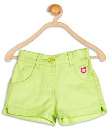 Baby League Solid Color Shorts - Green