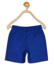 Baby League Twill Shorts - Blue