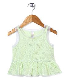 Miss Pretty Attractive & Trendy Top - Light Green