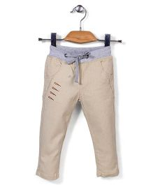 Elite Fashion Stylish Pants - Beige