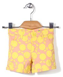 UCB Shorts Dot Print - Yellow