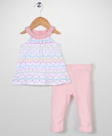 Happi by Dena Top & Leggings Set - Peach