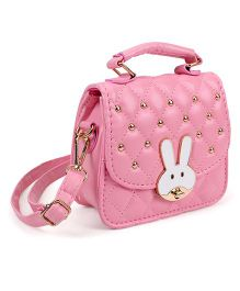 The Eed Rabbit Face Sling Bag - Pink