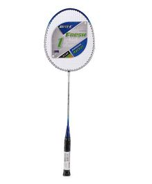 Super K Ferro Alloy Badminton Racket - Blue