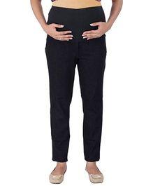 MomTobe Maternity Jeans - Black