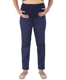 MomTobe Maternity Trousers - Navy Blue
