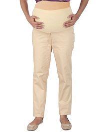 MomTobe Maternity Trousers - Beige