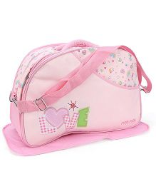 Mee Mee Nursery Bag Love Embroidery - Pink
