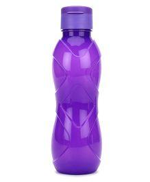 Cello Homeware Rugby Flip Open Water Bottle Purple - 600 ml