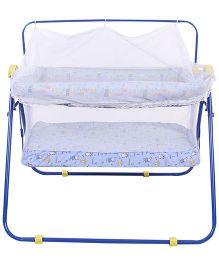 Mothertouch Combi Cradle Multi Print COCB - Blue