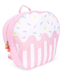 The Eed Stylish & Appealing School Backpack - Pink & White