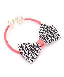 Glixie Hairband Type Motal Noveltic Clip - Pink