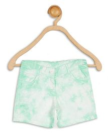612 League Shorts Twill Tye & Dye - Green