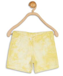 612 League Shorts Twill Tye & Dye - Yellow