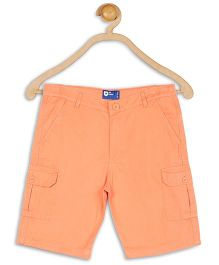 612 League Twill Cargo Shorts - Orange