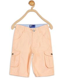 612 League Poplin Cargo Shorts - Peach