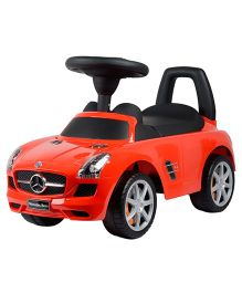 Delia Baby Mercedes Benz Manual Push Ride On - Red