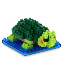 X-BLOCK Red Eared Turtle Blocks Green - 70 Pieces