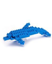 X-BLOCK Dolphin Building Blocks Blue And White - 70 To 200 Pieces