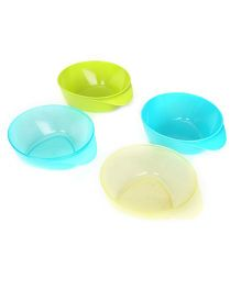 Tommee Tippee Explora Easy Scoop Feeding Bowls Pack of 4 (Color May Vary)