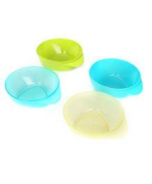 Tommee Tippee Explora Easy Scoop Feeding Bowls - Pack of 4