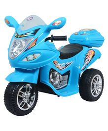 HLX NMC Battery Operated Fun Bike - Blue