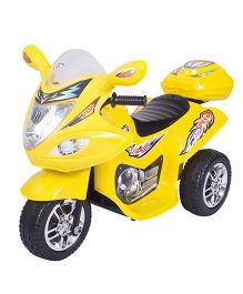 HLX NMC Battery Operated Fun Bike - Yellow