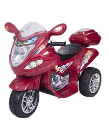 HLX NMC Battery Operated Fun Bike - Maroon