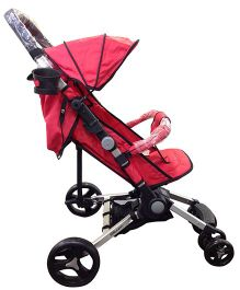 Babyelle Smart Pack N Go Portable Lightweight Stroller - Red