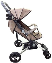 Babyelle Smart Pack N Go Portable Pram - Grey