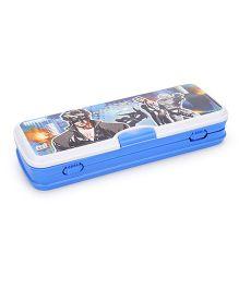 Ski Homeware Xylo Jr Pencil Box Krrish 3 Print - Blue