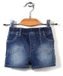 Little Denim Store Denim Shorts - Blue