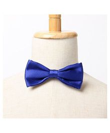 Brown Bows Slim Bow Tie - Blue