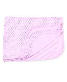 Simply Wrapper Heart Print - Purple Pink