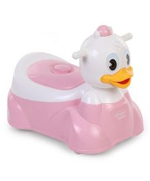 Duck Design Musical Potty Seat - Pink