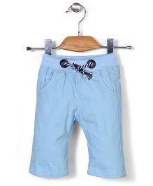 Little Star Casual Pants - Blue