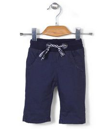 Little Star Kid Casual Pants - Navy Blue