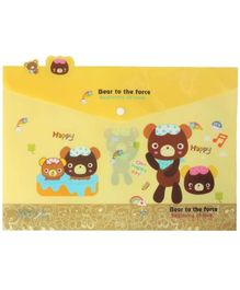 Fab N Funky Folder File - Bear to the Force