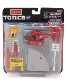 Tomica Funskool Hypercity Rescue Helicopter