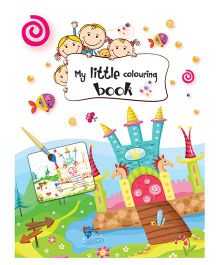 My Little Coloring Book - English