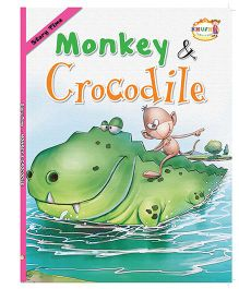 Monkey & Crocodile Story Book - English