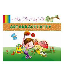 Art And Activity Book 5 - English