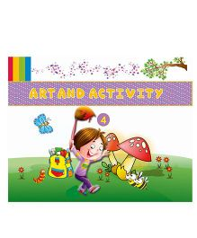 Art And Activity Book 4 - English