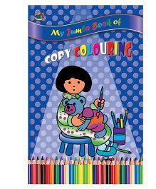 Copy Coloring Book - English